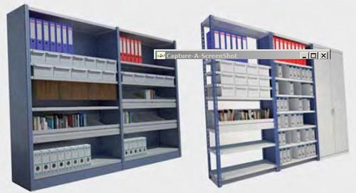 Estanterias de media carga - Medidas estanterias metalicas ...
